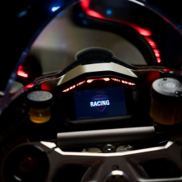 Akrapovic upmap installed and the dash flashes 'racing' on start up.
