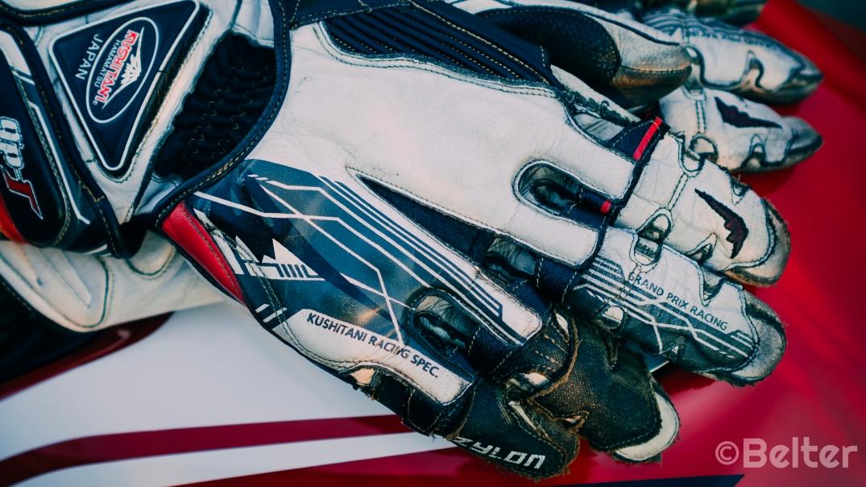 Kushitani GPR-6 Racing K-Foam Protection.